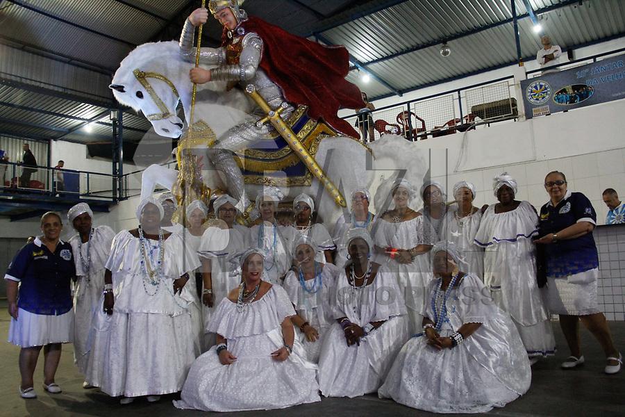 SÃO PAULO, SP, 12.05.2018 - CARNAVAL-SP - A escola de samba da zona oeste Águia de Ouro realizou neste sábado seu quadragésimo segundo aniversário, a escola que faz parte do carnaval especial de São Paulo, neste sábado, 12. (Foto: Nelson Gariba/Brazil Photo Press)