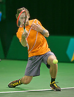 08-02-2014,Netherlands,Rotterdam,Ahoy, ABNAMROWTT , Wesley Koolhof (NED)<br /> Photo:Tennisimages/Henk Koster