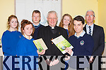 Bishop Ray Browne and students from  St Brigid's and St Brendan's Launching 'The Cry of the Earth' a Apastoral Reflection on climate change from the Irish Catholic Bishops Conference in St Brendan's College on Wednesday were l-r: Aisling O'Sullivan, Niamh Collins, Jack curtin, Bishop Ray Browne, Connie Lynch, Chris Buckley and Sean Coffey Principal