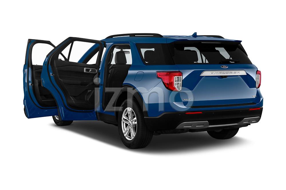 Car images of 2020 Ford Explorer XLT 5 Door SUV Doors