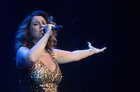 SÃO PAULO, SP, 23.10.2014 - SHOW MARIA RITA: A cantora Maria Rita durante show na noite desta quinta feira (23) no HSBC Brasil em São Paulo. (Foto: Levi Bianco - Brazil Photo Press)