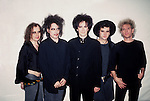 The Cure - Robert Smith, Simon Gallup, Roger O'Donnell , Boris Williams, Porl Thompson 1989