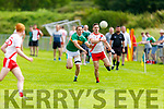 Action from An Ghaeltacht v John Mitchels in the Intermediate Football Championship.