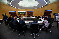 The New Zealand government holds its first cabinet meeting at Parliament in Wellington, New Zealand on Friday, November 6, 2020. Photo: Dave Lintott / lintottphoto.co.nz