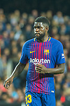 Samuel Umtiti of FC Barcelona is seen during the La Liga 2017-18 match between Valencia CF and FC Barcelona at Estadio de Mestalla on November 26 2017 in Valencia, Spain. Photo by Maria Jose Segovia Carmona / Power Sport Images