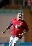 Wales Captain Craig Bellamy celebrates his goal during the International Friendly between Wales and Luxembourg at Parc y Scarlets in LLanelli..