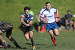 NELSON, NEW ZEALAND -JULY 31: Miles Toyota Championship Nelson College v Mid Canterbury Nelson College ,Saturday 31 July 2021,Nelson New Zealand. (Photo by Evan Barnes Shuttersport Limited)
