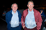 Enjoying the evening in Listowel on Thursday, l to r: Eugene Dillon from Duagh and Martin Morrissey.