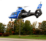 Troy police are investigating a incident at West Market Street and Nashville Road where a male subject was reported to have jumped from a moving vehicle. The incident occurred around 12:45 p.m. The subject is reported to have suffered head injuries. CareFlight was called to transport the subject to a Dayton area hospital. No names have been released and the incident is under investigation.