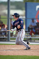 Minnesota Twins AJ Murray (30) during a minor league Spring Training intrasquad game on March 15, 2016 at CenturyLink Sports Complex in Fort Myers, Florida.  (Mike Janes/Four Seam Images)