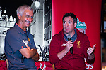 Ian Rush (L) and Robbie Fowler (R) during the Liverpool FC Supporters Club Legends Appearance at Grappa's Cellar-Jardine House on July 17, 2017 in Hong Kong, China. Photo by Marcio Rodrigo Machado / Power Sport Images