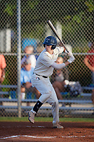 Ty Gill (8) during the WWBA World Championship at Terry Park on October 10, 2020 in Fort Myers, Florida.  Ty Gill, a resident of Valparaiso, Indiana who attends Valparaiso High School, is committed to Purdue.  (Mike Janes/Four Seam Images)