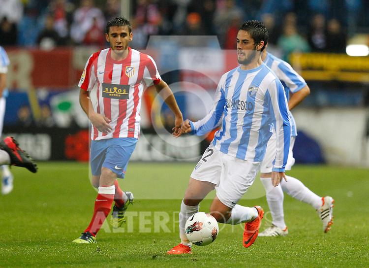 Madrid (05/05/2012).- Estadio Vicente Calderon..Liga BBVA.Atletico de madrid - Malaga Club de Futbol..Isco...Photo: Alex Cid-Fuentes / ALFAQUI..