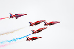 Red Arrows, Southport Air Show, 26.09.09