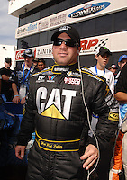 Nov 4, 2007; Pomona, CA, USA; NHRA top fuel driver Rod Fuller during the Auto Club Finals at Auto Club Raceway at Pomona. Mandatory Credit: Mark J. Rebilas-US PRESSWIRE