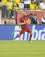 Portugal midfielder Raul Meireles (16).  In an International friendly match Brazil defeated Portugal, 3-1, at Gillette Stadium on Sep 10, 2013.