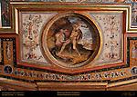 Hercules Battles Cerberus Marchetti Sala di Ercole (Room of Hercules) Apartment of the Elements Palazzo Vecchio Florence