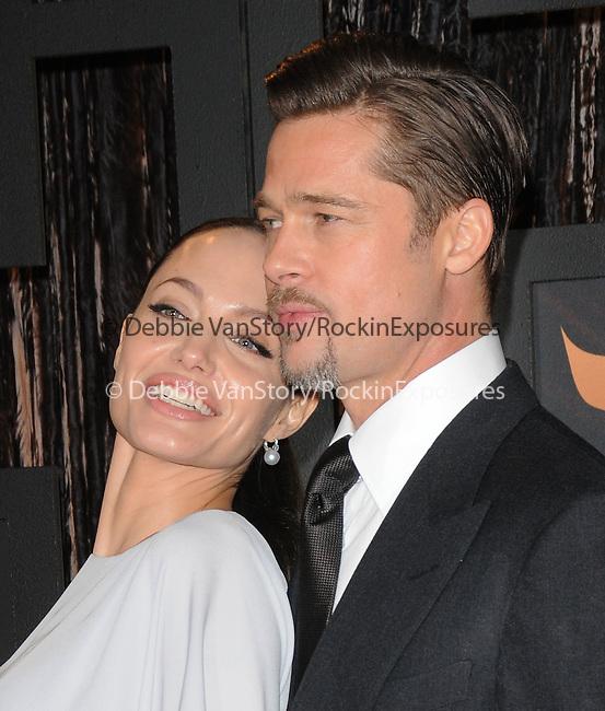 Angelina Jolie & Brad Pitt at The 14th Annual Critics Choice Awards held at The Santa Monica Civic Center in Santa Monica, California on January 08,2009                                                                     Copyright 2008 Debbie VanStory