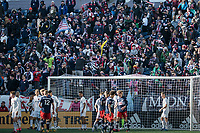 FOXBOROUGH, MA - MARCH 7:  during a game between Chicago Fire and New England Revolution at Gillette Stadium on March 7, 2020 in Foxborough, Massachusetts.