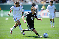 D.C. United's Bryan Namoff during a game against Los Angeles Galaxy at the Home Depot Center in Carson, CA on Sunday, March 22, 2009.