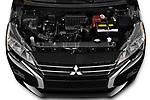 Car Stock 2021 Mitsubishi Mirage ES 5 Door Hatchback Engine  high angle detail view
