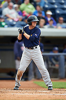Cedar Rapids Kernels outfielder Tanner English (2) at bat during a game against the West Michigan Whitecaps on June 7, 2015 at Fifth Third Ballpark in Comstock Park, Michigan.  West Michigan defeated Cedar Rapids 6-2.  (Mike Janes/Four Seam Images)