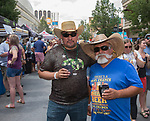 Marcello and Roberto during the 24th Annual Great Eldorado Brews and Blues Festival in Reno, Nevada on Saturday, June 15, 2019.
