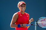 August 06, 2017: Madison Keys (USA) defeated CoCo Vandeweghe (USA) 7-6 (7-4), 6-4 at the Bank of the West Classic finals being played at the Taube Tennis Stadium in Stanford, California. ©Mal Taam/TennisClix?CSM