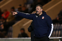 Swindon Town manager Richie Wellens during Colchester United vs Swindon Town, Sky Bet EFL League 2 Football at the JobServe Community Stadium on 28th January 2020