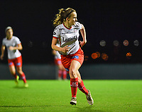 Geena Lisa Buyle (13) of Zulte-Waregem pictured during a female soccer game between RSC Anderlecht Dames and SV Zulte Waregem on the 10 th matchday of the 2020 - 2021 season of Belgian Womens Super League , friday 18 th of December 2020  in Tubize , Belgium . PHOTO SPORTPIX.BE | SPP | DAVID CATRY