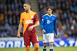 St Johnstone v Galatasaray…12.08.21  McDiarmid Park Europa League Qualifier<br />Murray Davidson<br />Picture by Graeme Hart.<br />Copyright Perthshire Picture Agency<br />Tel: 01738 623350  Mobile: 07990 594431