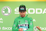 Peter Sagan (SVK) Bora-Hansgrohe retains the points Green Jersey at the end of Stage 10 of the 2019 Tour de France running 217.5km from Saint-Flour to Albi, France. 15th July 2019.<br /> Picture: Colin Flockton | Cyclefile<br /> All photos usage must carry mandatory copyright credit (© Cyclefile | Colin Flockton)