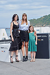 Alice Winocour, Eva Green and Zelie Boulant attend the photocall of 'Proxima' during the 67th San Sebastian Donostia International Film Festival - Zinemaldia.September 21,2019.(ALTERPHOTOS/Yurena Paniagua)