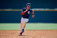 Blake Chapman (3) of Elev8 Sports Institute in Simsbury, CT during the Perfect Game National Showcase at Hoover Metropolitan Stadium on June 20, 2020 in Hoover, Alabama. (Mike Janes/Four Seam Images)