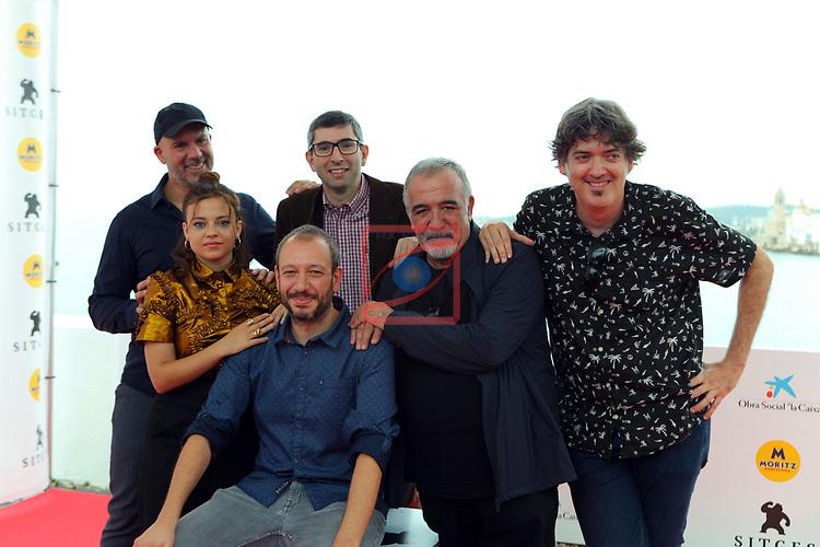 52 FESTIVAL INTERNACIONAL DE CINEMA FANTASTIC DE CATALUNYA. SITGES 2019.<br /> Cuerdas-Photocall.<br /> El equipo de la pelicula.