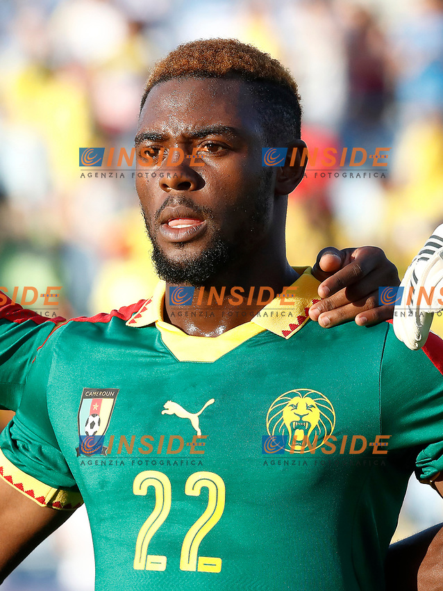 Cameroon's Jonathan Ngwem during international friendly match. June 13,2017.(ALTERPHOTOS/Acero/Insidefoto)<br /> Camerun - Colombia <br /> Foto Acero/Alterphotos/Insidefoto <br /> ITALY ONLY