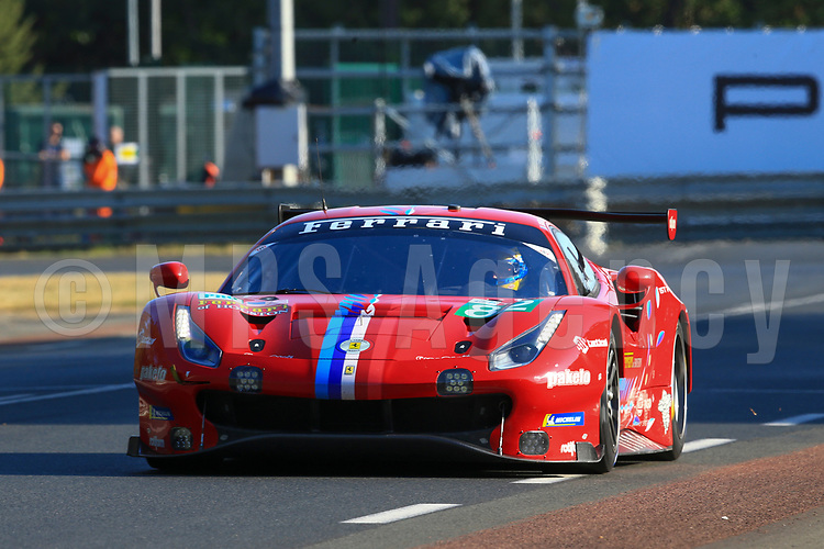 #82 RISI COMPETIZIONE (USA) FERRARI 488 GTE EVO LM GTE PRO OLIVIER PLA (FRA) SEBASTIEN BOURDAIS (FRA) JULES GOUNON (FRA)