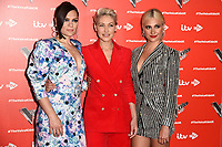 Jessie J, Emma Willis and Pixie Lott<br /> at The Voice Kids 2019 photocall, London<br /> <br /> ©Ash Knotek  D3506  06/06/2019