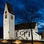 Pfarrkirche, Church, Gamprin-Bendern, Liechtenstein.<br /> <br /> Foto: Paul J. Trummer