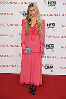 """Laura Bailey<br /> at the London Film Festival 2016 premiere of """"Nocturnal Animals"""" at the Odeon Leicester Square, London.<br /> <br /> <br /> ©Ash Knotek  D3179  14/10/2016"""