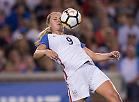 Cincinnati, OH - September 19, 2017: The USWNT defeated New Zealand 5-0 during an international friendly at Nippert Stadium.