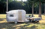 Shasta vintage travel trailer.
