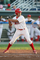 August 28th, 2007:  Mateo Marquez of the Batavia Muckdogs, Short-Season Class-A affiliate of the St. Louis Cardinals at Dwyer Stadium in Batavia, NY.  Photo by:  Mike Janes/Four Seam Images