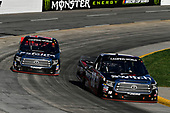 NASCAR Camping World Truck Series<br /> Alpha Energy Solutions 250<br /> Martinsville Speedway, Martinsville, VA USA<br /> Saturday 1 April 2017<br /> Noah Gragson, Ben Rhodes<br /> World Copyright: Scott R LePage/LAT Images<br /> ref: Digital Image lepage-170401-mv-2883