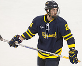 Tyler Drevitch (Merrimack - 24) - The visiting Merrimack College Warriors defeated the Boston College Eagles 6 - 3 (EN) on Friday, February 10, 2017, at Kelley Rink in Conte Forum in Chestnut Hill, Massachusetts.