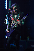 WEST PALM BEACH, FL - AUGUST 05: Brian Head Welch of Korn performs at The iTHINK Financial Amphitheatre on August 5, 2021 in West Palm Beach Florida. Credit Larry Marano © 2021