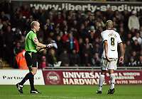 Pictured: Darren Pratley of Swansea City <br /> Re: Coca Cola Championship, Swansea City Football Club v Birmingham City at the Liberty Stadium, Swansea, south Wales Friday 21 November 2008.<br /> Picture by D Legakis Photography (Athena Picture Agency), Swansea, 07815441513