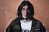 09.12.2020 - Working Class Hero - John Lennon Graffiti By Harry Greb in Rome