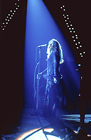"""BNPS.co.uk (01202 558833)<br /> Pic: BarryLevine/Guernseys/BNPS<br /> <br /> !!!ONE TIME USE ONLY!!! PICS ONLY TO BE USED IN RELATION TO THE AUCTION!!!<br /> <br /> Pictured: Janis Joplin.<br /> <br /> A photo collection offering a rare glimpse of the iconic Woodstock Festival has sold for over £12,000.<br /> <br /> The unique Levine series captured some of the world's most famous rock stars performing at the one-of-a-kind festival in Bethel, New York, in August 1969, including Jimi Hendrix, Janis Joplin, The Who, and Neil Young.<br /> <br /> Barry Levine, now 77, brushed shoulders with many of his subjects, recalling Hendrix's """"amazing sense of humour"""" and Young's disdain for photographers from his home in Florida."""