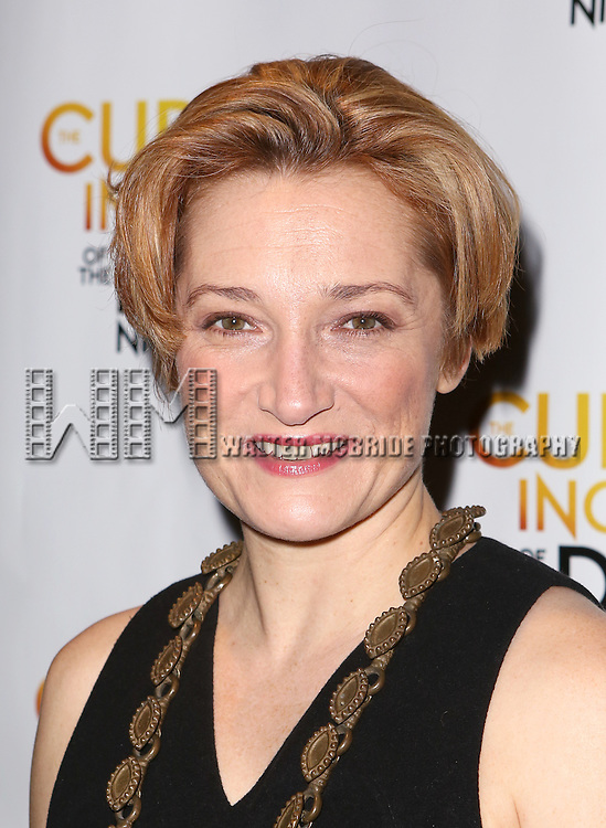 Francesca Faridany attends the Broadway Opening Night Performance After Party for 'The Curious Incident of the Dog in the Night-Time'  at Urbo on October 5, 2014 in New York City.